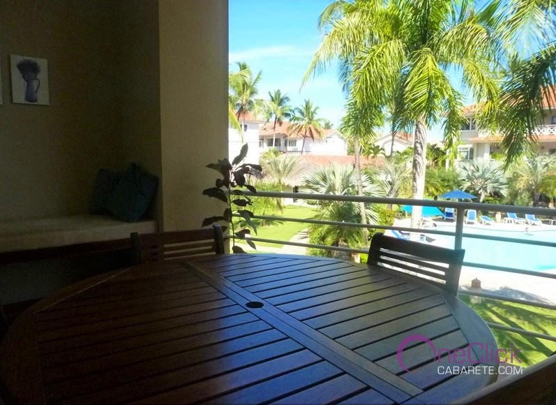 Charming 2-Bedroom Apartment Garden View in Cabarete Center For Rent