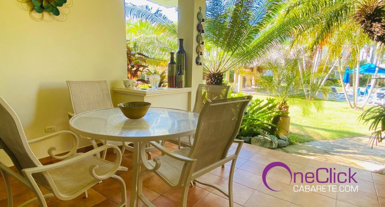Fantastic 2-Bedroom Apartment Garden View in Cabarete For Rent