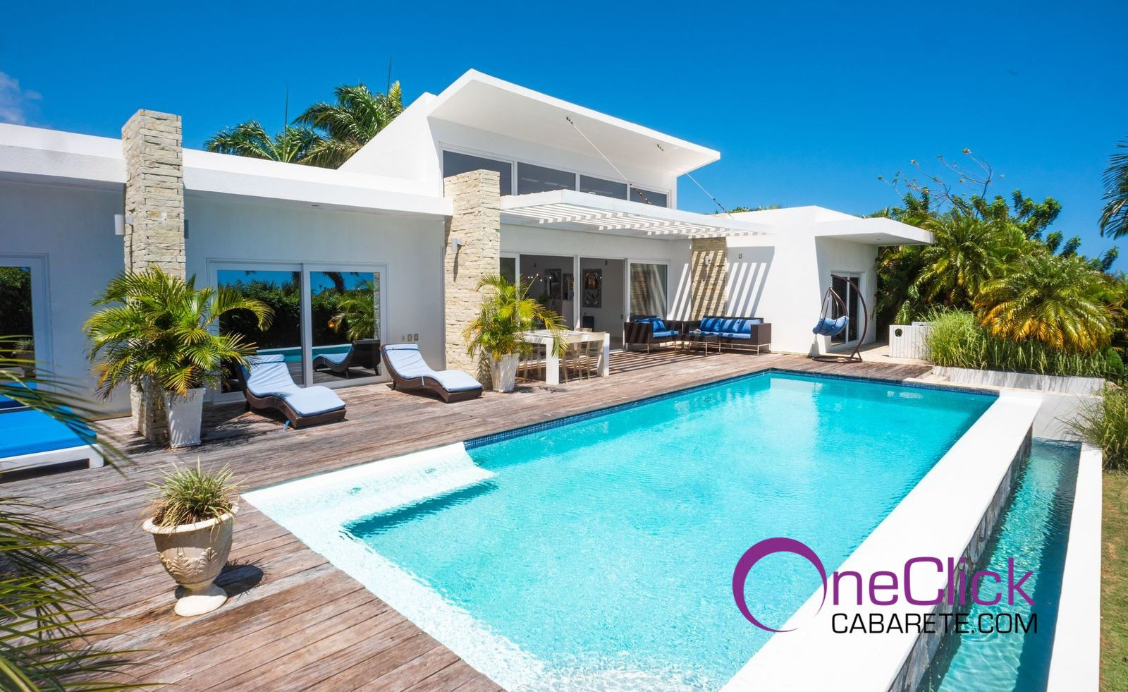 Beautiful 3-Bedroom Villa with private pool For Rent