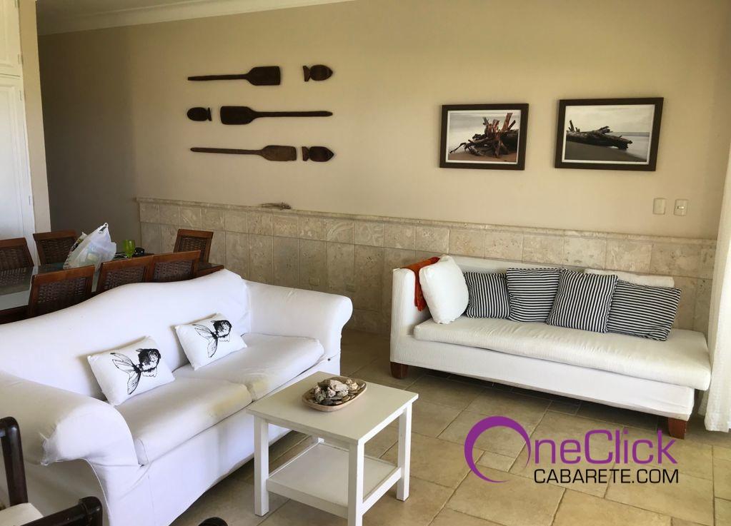 2 BR Ocean-View Apartment in Cabarete For Sale