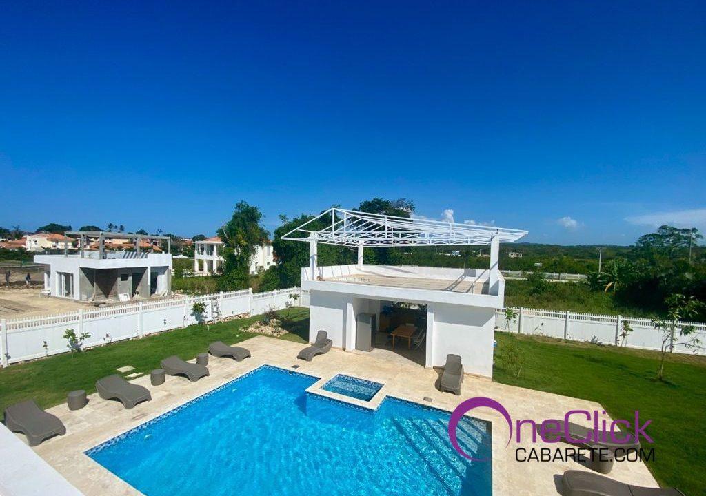 38 turnkey villa