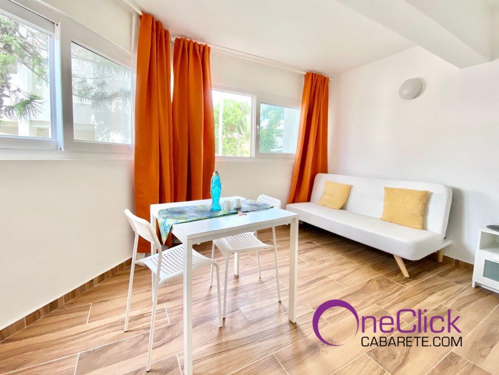 Lovely Studio in Cabarete Center For Rent