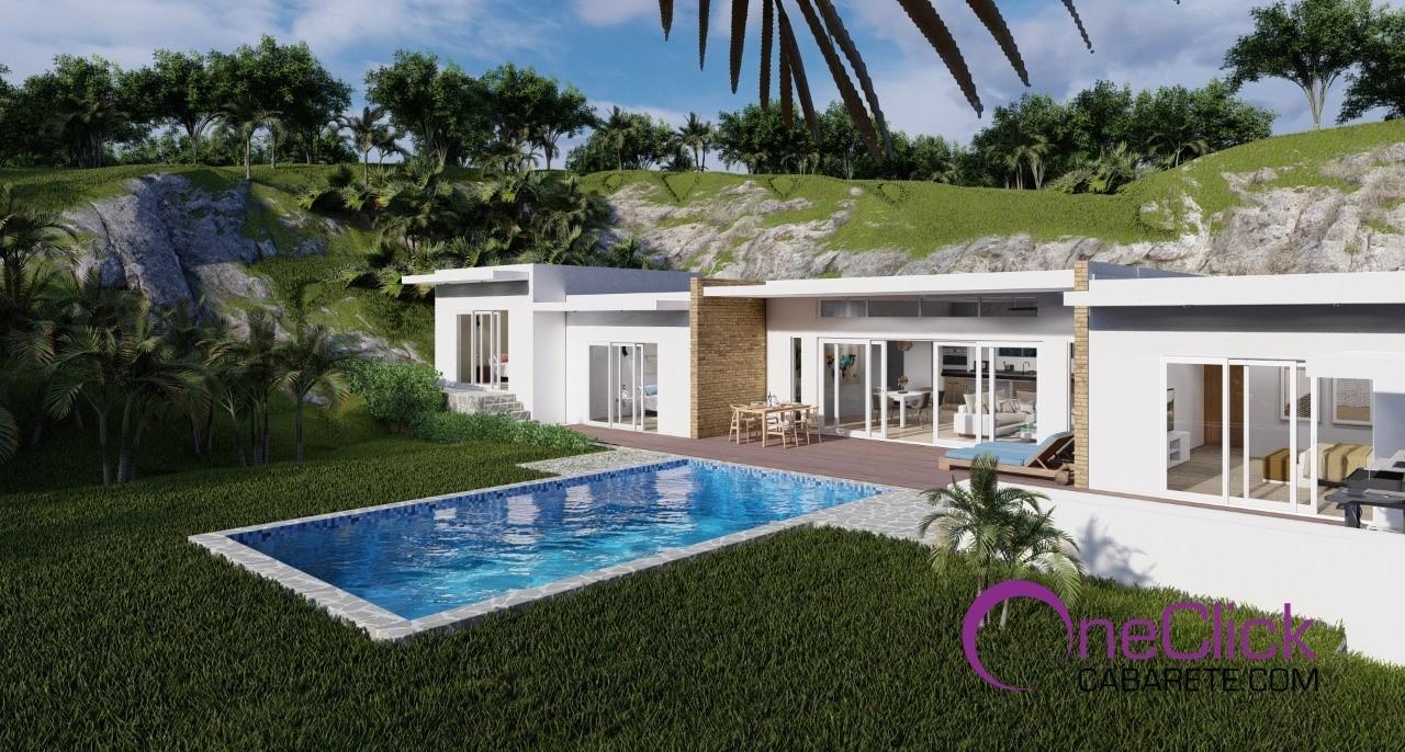 Your 3-bedroom Villa in Sosúa with Wonderful Ocean View