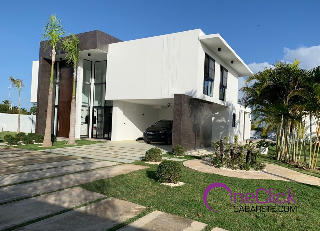 Brand New Villa with Fantastic Modern Touch in Sosúa For Sale